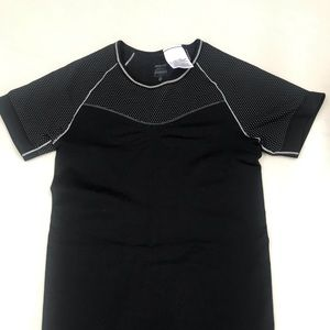 Nike short sleeved black dri fit shirt